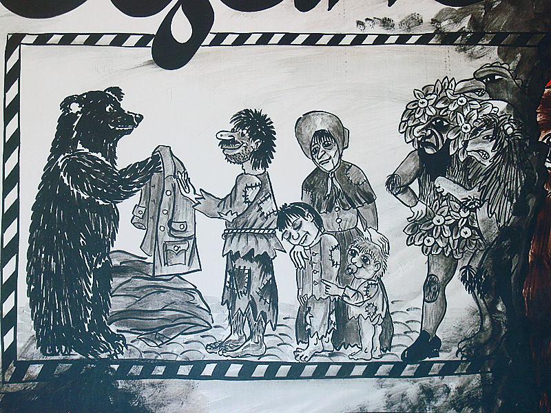 Der Bär war der Liebling der Kleinbasler Frauen, Männer und Kinder.
