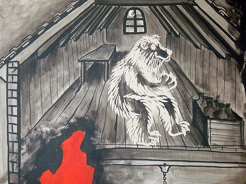 Im Estrich des Restaurant «Schwarzer Bären» lebte der Geist des Bären weiter ...